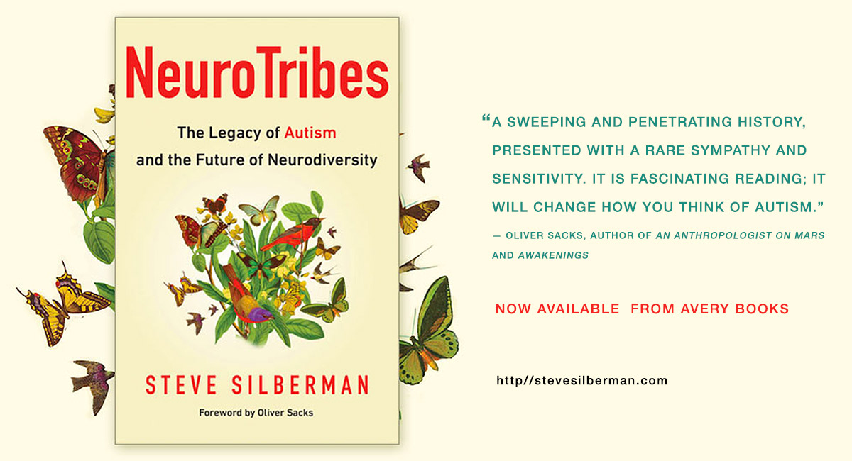 A Q About Autism With Steve Silberman >> About Steve Silberman
